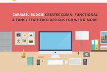 Flat Design Illustrations / Flat Design And Infographics Illustrations. Modern Illustrations  / by Chud Tsankov Illustrations
