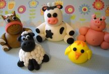 Fondant & Gumpaste Toppers / Lots of time and patience and I shall achieve each.  / by Lydia Sestito