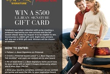 L.L. Bean Signature Fall Wishlist / by Jennifer MacDonald