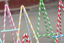 Paper Straws Projects / by Lori Allred {allreddesign.net}