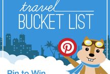 Hipmunk Bucket List / by Emily Horne