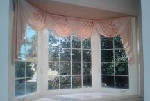 Swag Curtains / Swag Curtain window treatments / by Window Treatments