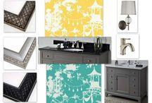 Bathroom Design Board / by MirrorMate Frames