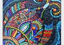 Mosaic Art / Anything Mosaic, Tables, Dresser, I love it all! / by Terry Shelton