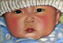 Paintings of children / by Penny Valadez
