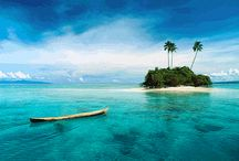 "A Weekend at the Beach: Fiji / Located in the South Pacific Ocean, the Republic of Fiji consists of more than 330 islands. The ""Pearl of the Pacific"" draws thrill seekers and relaxers alike with its white sandy beaches, miles of coral reefs and tropical jungles. As a top destination, we have compiled an ideal packing list as well as activities for your trip. Come to Fiji with Nautica!  / by Nautica"
