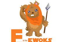 EWOKS / by Elisa Rae