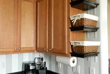 Space Saving Ideas / by Classy Lil Miss