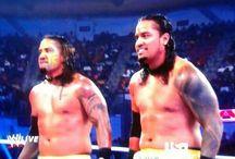 Uso Brothers-WWE / by Lori Patnode