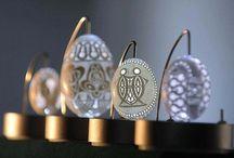 Amazing eggshell sculpture / Franc Grom egg art / by Dolls House Emporium