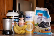 Protein shakes / by Debra Dudley Shriver