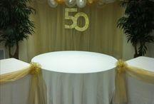 Welo and Wela's 50th! / by Mykela Unzueta