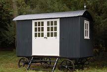* Sheperds hut * / by Audrey Fitzjohn