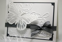 Cards - Vellum flowers / by Marilyn Compton
