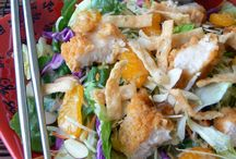 Recipes:  SALADS / by Sheila Etzler