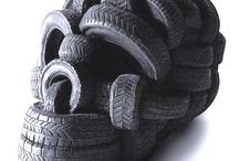 Avec un pneu on peut aussi... / by Allopneus France
