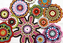 Crochet Flowers / by Donna Zaluska-Roberts