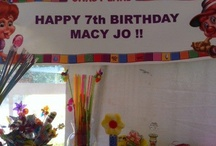 Macy's 7th Birthday party / CANDY LAND!!!!  I haven't d/l all party pics I took, Moore to come.  The latter are CL Bday ideas! / by Trixielalamo