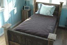 Reclaimed Wood Bed / by Reclaimed Wood, Inc.
