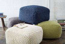 Poufs, Pillows & Plush Pieces / by Brett Johnson