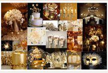 Golden Bday Ideas / by Tiffani Soroos