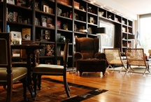 Reading rooms / Hotel libraries in which to while away the hours… / by Mr & Mrs Smith
