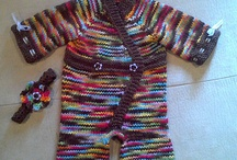 Baby Girl Knitted Things / by Joselyn Lee