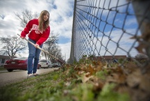 """Big Event 2013  / """"One Big Day, One Big Thanks"""" to the city of Lincoln. Over 2,750 UNL students spent the day volunteering across the capital city.  / by University of Nebraska–Lincoln"""