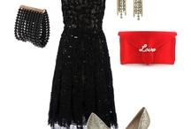 "look book | the little black dress / ""One is never over-dressed or under-dressed with a Little Black Dress.""  —  Karl Lagerfeld / by Katie Skelley | Team Skelley The Blog"