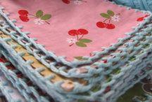 50 Fabric Scraps & Remnant Ideas / by Vicki Roberts Techau