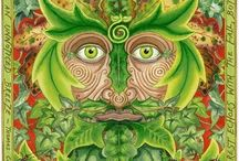 Green Man & The Goddess / by The Village Witch Shop