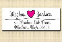 return address labels / by Heidi Svitil