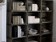 Bookshelves / by Trisha Krcmarik