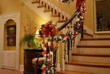 christmas staircase / by Dawn Gilley