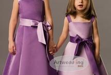 Artwedding Flower Girl Dresses  / Artwedding's best flower girl dresses for the wedding right now! / by Artwedding.com