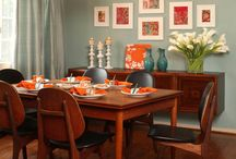 Dining room ideas / by Wilma Galvin