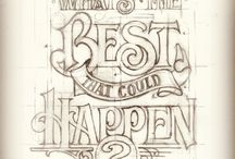 Typography / by Kristin Praeuner