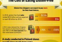 Food: Gluten Free / by Jennifer Hostetler