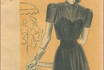 Vintage sewing patterns / by Denise Koffroth