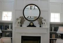 fireplace / by Sarah Arkanoff