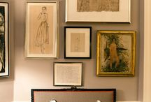 interiors: picture framing / by Sally Osborne