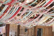 party ceiling / by Milly Molly Mandy
