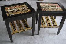 DIY hockey furniture / by Rachael Wronkowicz