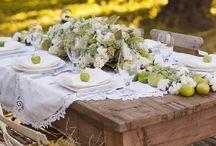 tables / by connie estrada
