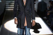 Dsquared2 FW 2013 - La Nouvelle Noir / by Black Male Models