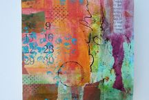 Mixed Media Art / Tips, tutorials, materials and examples of mixed media art. / by Lillian Connelly