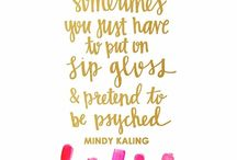 <3 Mindy Kaling / by Fit in Clouds