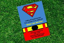super man nirthday / by Ashley Abercrombie
