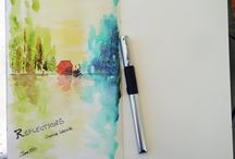 Watercolor Journal Inspiration / by EM