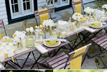 Party ideas / by Maria Elena; Holguin Interiors, LLC